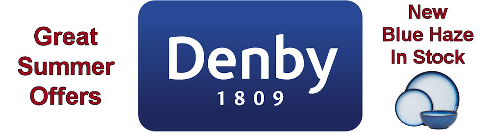 Denby - Great Summer Offers - Blue Haze Now in Stock
