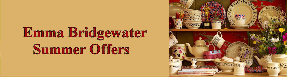 Summer Offers from Emma Bridgewater