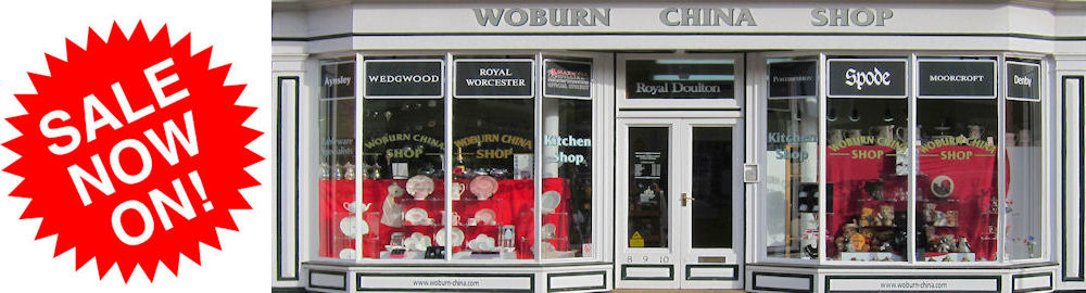 Woburn China & Gifts Sale Now On