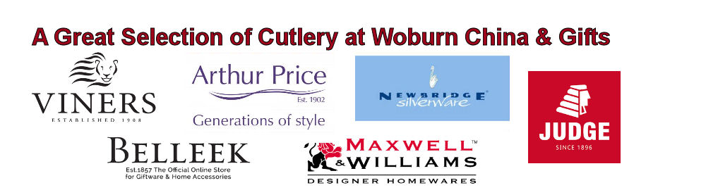 A Great Selection of Cutlery at Woburn China & Gifts