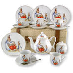 Beatrix Potter Peter Rabbit Childrens Tea Sets