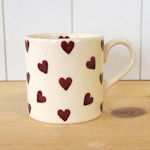 Peregrine Pottery - Queen of Hearts