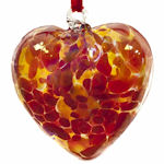 Amelia Birthstone Glass Hearts