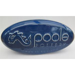 Poole Pottery - Display Sign Pebbles