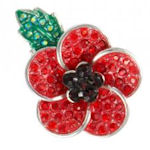 Poppy Brooches from Lila