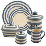 Fairmont & Main Kitchen Stripe Delph Blue