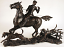 Richard Cooper & Company Bronze - Doubling The Horn - Hunt - Limited Edition 50