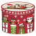 Christmas Owls Gift Tin