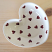 Peregrine Pottery - Queen of Hearts Heart Bowl