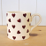 Peregrine Pottery - Queen of Hearts Mug Large 400ml