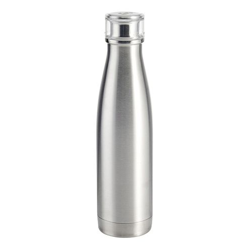 a459b60c31 Built Double Walled Stainless Steel Water Bottle 17oz 48cl Silver