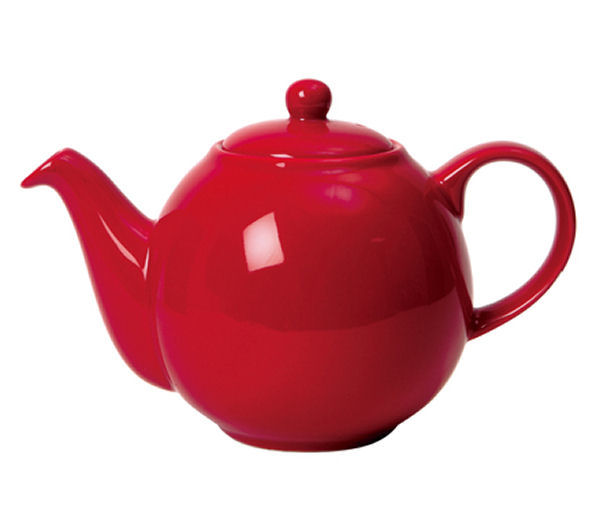 London Pottery Globe Teapot 6 Cup Red