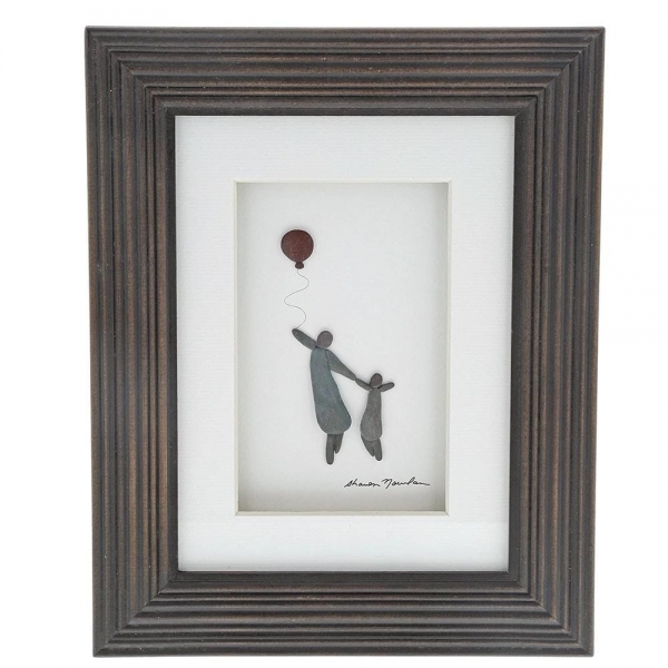 Big and Little - Framed Picture by Sharon Nowlan