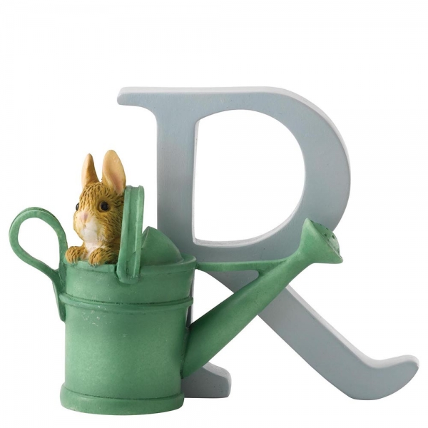 Beatrix Potter - Alphabet Letter R - Peter Rabbit in Watering Can