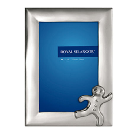 Royal Selangor Fairy Tales Photoframe 4R - Gingerbread Man