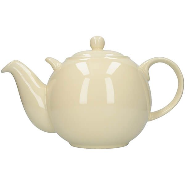 London Pottery Globe Teapot 10 Cup Ivory