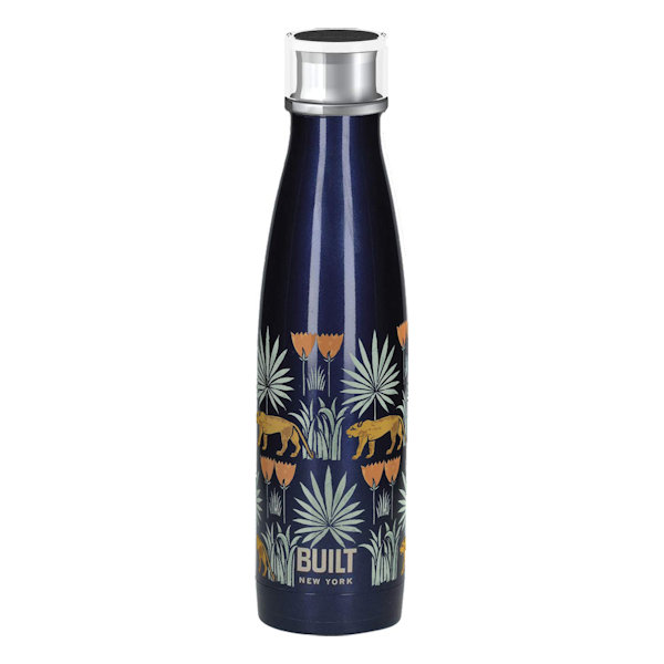 Built Double Walled Stainless Steel Water Bottle 17oz 500ml V&A Lioness Design