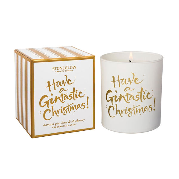 Stoneglow Candles Have a Gintastic Christmas Tumbler
