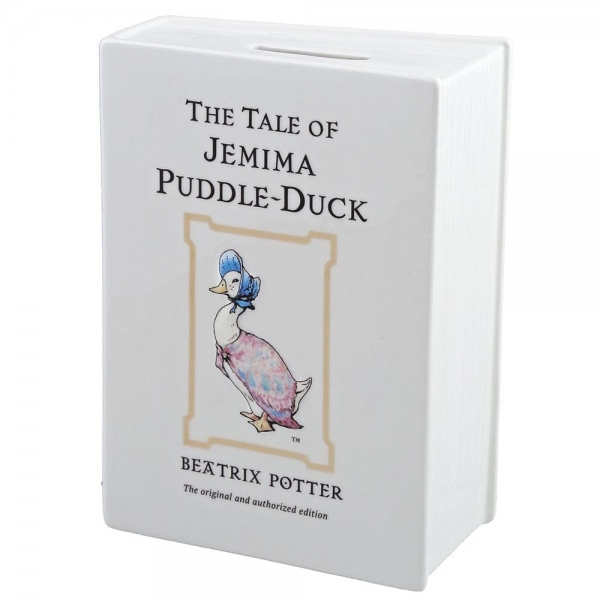 Border Fine Arts - Beatrix Potter - The Tale of Jemima Puddle-Duck Book Money Bank