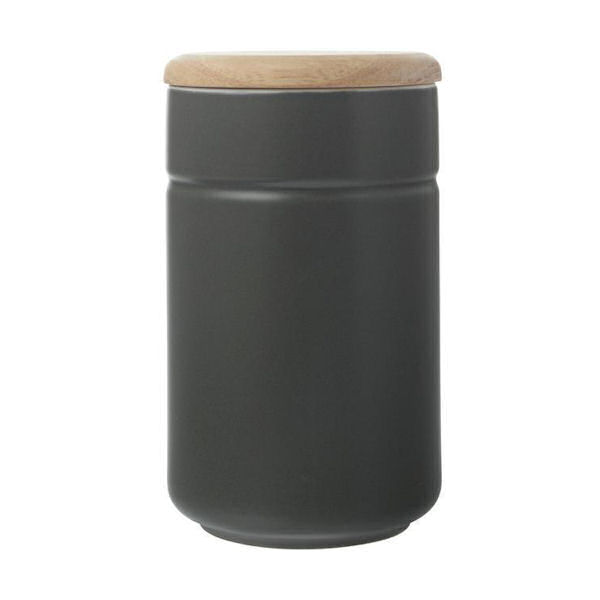 Maxwell & Williams Tint Canister 900ml Charcoal