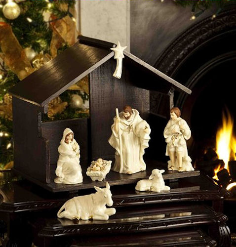 Belleek Living Classic Christmas - Nativity Set
