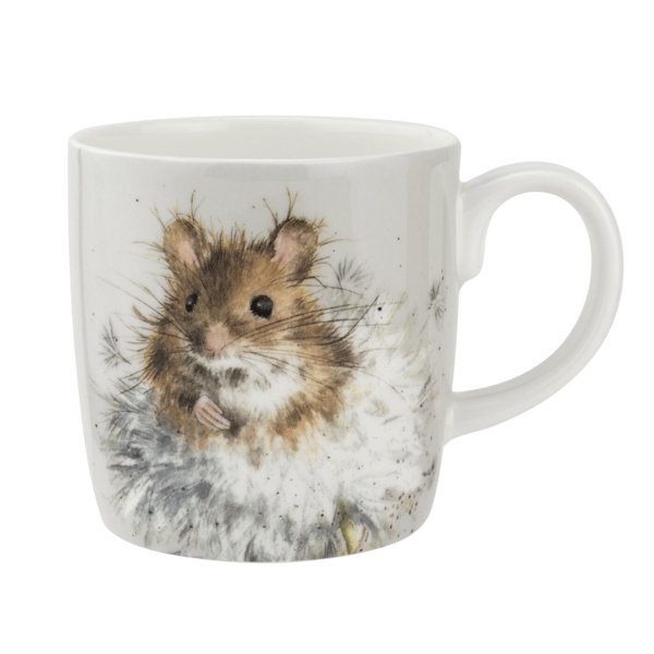 Royal Worcester Wrendale Designs - Large Mug - Dandelion Mouse 0.4L