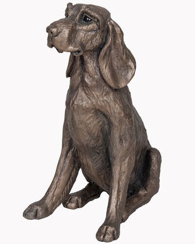 Frith Sculpture - Max the Hound Sitting