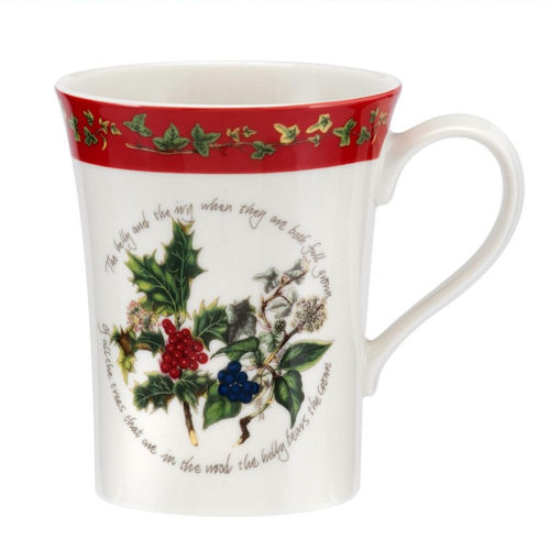 Portmeirion Holly & Ivy Mug 0.35L 12oz