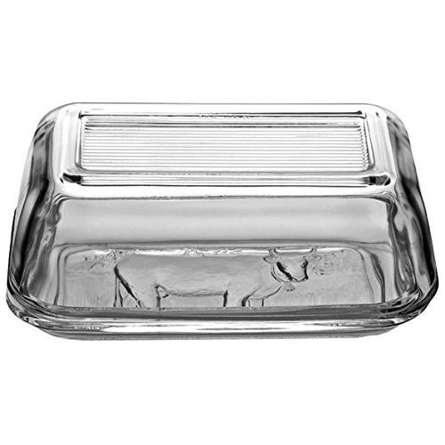 Luminarc Cow Butter Oblong with Lid