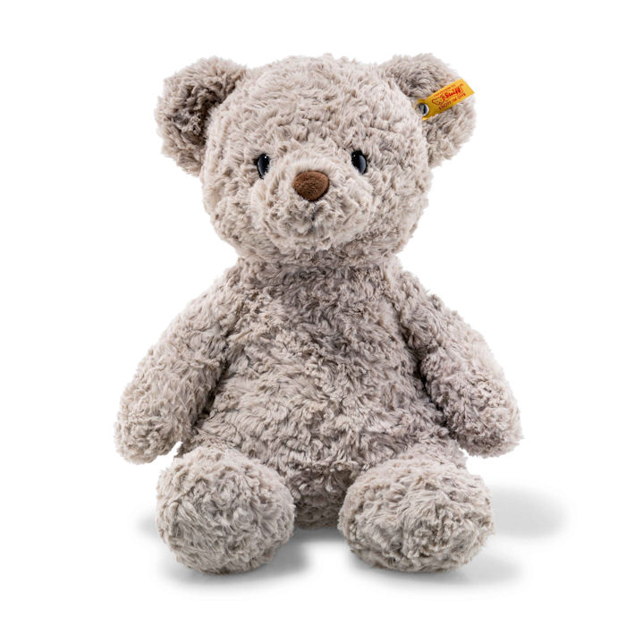 Steiff Soft Cuddly Friends Honey Teddy Bear Grey 38cm