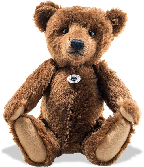 Steiff 1909 Replica Jointed Mohair Teddy Bear 46cm Limited Edition