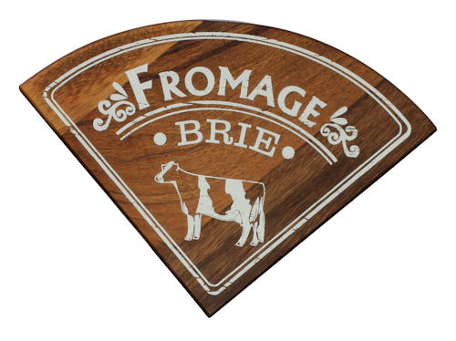 T&G Individual Vintage Style Cheese Board - Brie