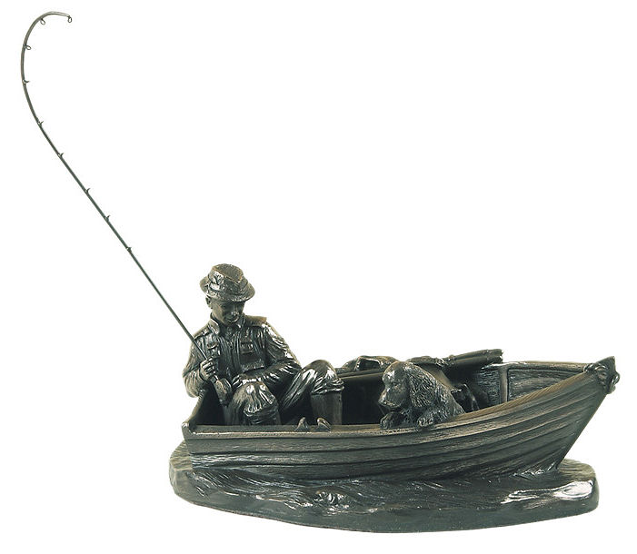 Genesis Fine Arts - A Day's Fishing Bronze