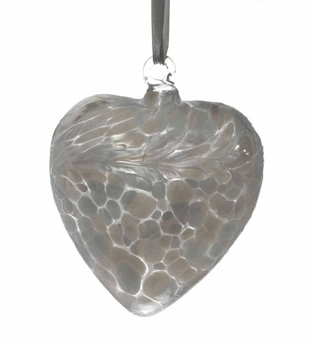 Amelia Friendship Birthstone Heart - Medium - Diamond - April