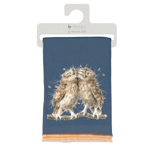Wrendale Designs Winter Scarf - Owl - Birds of a Feather