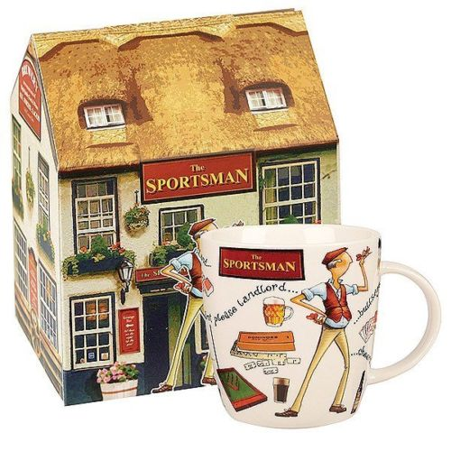 At Your Leisure - The Sportsman Mug in Giftbox