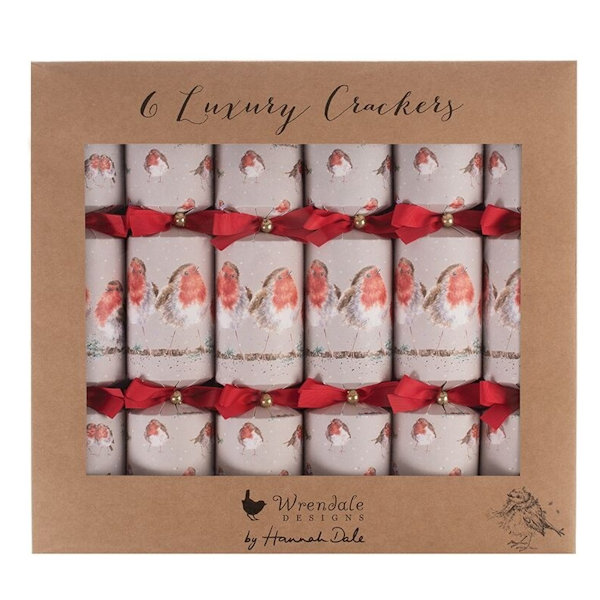 Wrendale Designs - Christmas Crackers - Robin