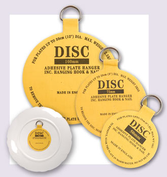 Leeds Display Disc Plate Hanger 30mm Mini