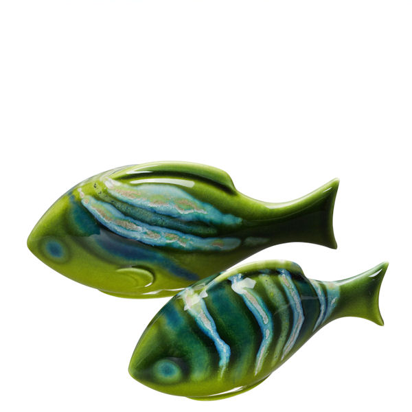 Poole Pottery Maya Fish - Pair