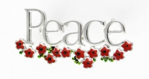 Poppy Brooch - Peace