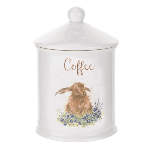 Royal Worcester Wrendale Designs - Canister - Coffee - Hare
