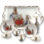 Beatrix Potter Classic Miniature Tea Set with Tray