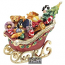 Craycombe Trinket Box - Sleigh with Presents