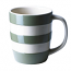 Cornishware - Cornish Colours - Green Mug 12oz / 34cl