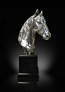Richard Cooper Studio - Nickel Plated Resin - Horse Medium Size