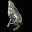 Richard Cooper Studio - Nickel Plated Resin - Moon Gazing Hare