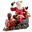 Aynsley Santa on Train - Figurine