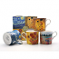 Heritage Bone China - The Artists Collection Mugs - Set of 4