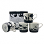 Heritage Bone China - Safari Silhouette Mugs - Set of 4