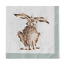 Wrendale Designs - Napkins - Luncheon - Hair Brained (Hare)